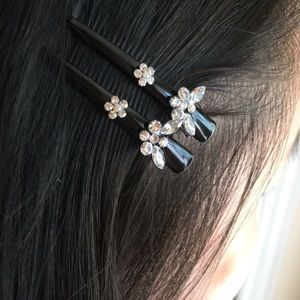 [NWOT] Jeweled Butterfly Clip Bundle (Set of 10)